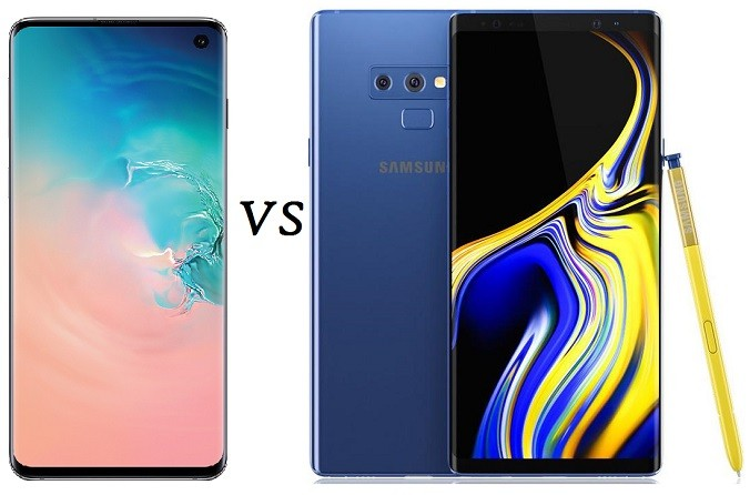 Samsung Galaxy S10 vs Note 9