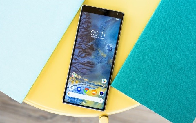 дизайн sony xperia 10 plus