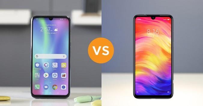 Xiaomi Redmi Note 7 vs Honor 10 lite