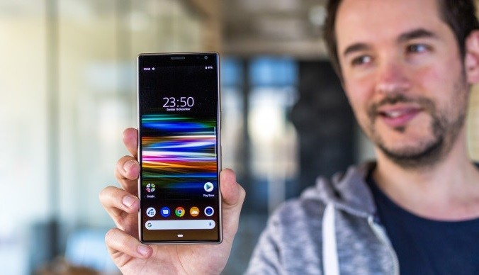смартфон sony xperia 10 plus