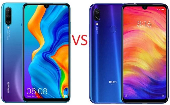 Huawei P30 Lite vs Redmi Note 7