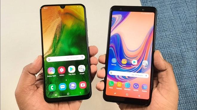 Samsung Galaxy A50 vs Galaxy A7