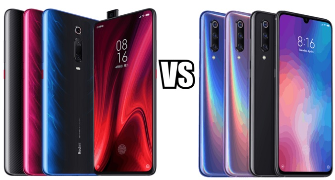 Xiaomi Mi 9 vs Redmi K20