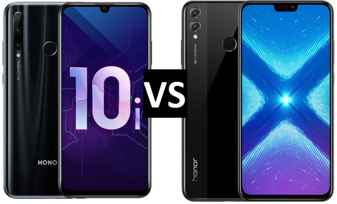 Honor 10i vs Honor 8X