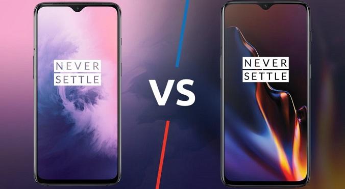 OnePlus 7 vs OnePlus 6T