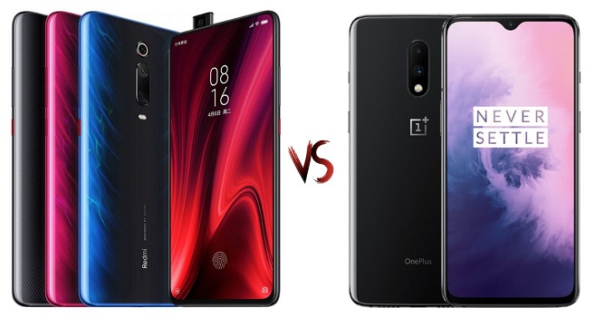 Redmi K20 vs OnePlus 7