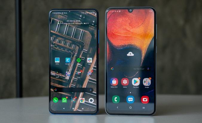 Xiaomi Mi 9T vs Samsung Galaxy A50