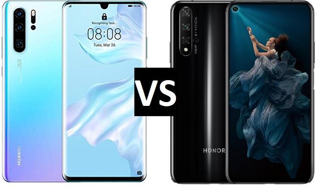 huawei p30 vs honor 20