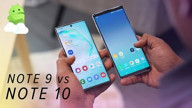 galaxy note 10 vs note 9 сравнение
