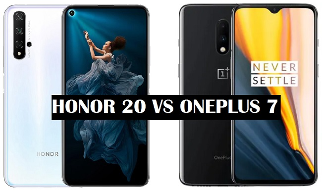 honor 20 vs oneplus 7