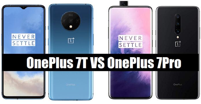 OnePlus-7T vs oneplus 7 pro