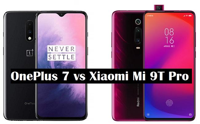 oneplus 7 vs xiaomi mi 9t pro