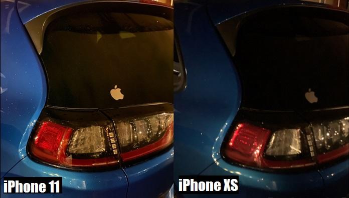 сравнение фото на iphone xs и iphone 11