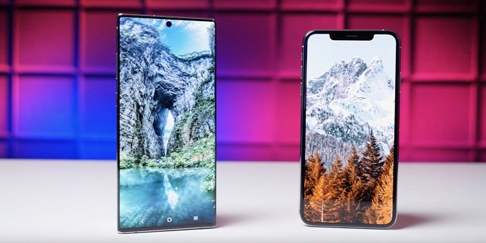Samsung Galaxy Note 10 vs iPhone 11