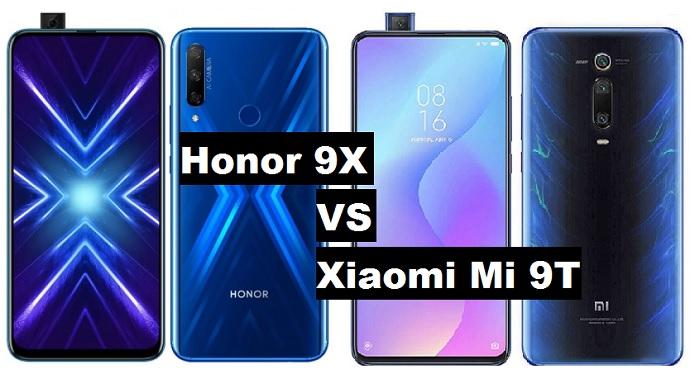 honor 9x vs xiaomi mi 9t