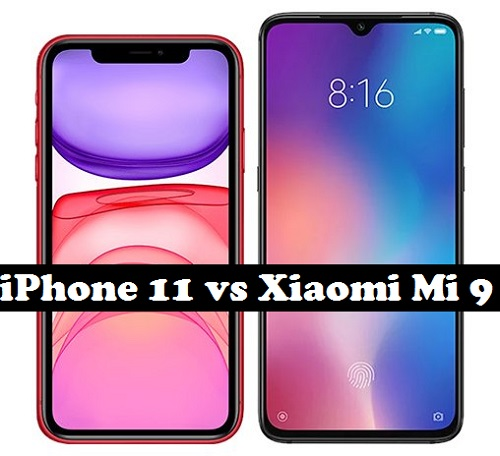 iPhone 11 vs Xiaomi Mi 9