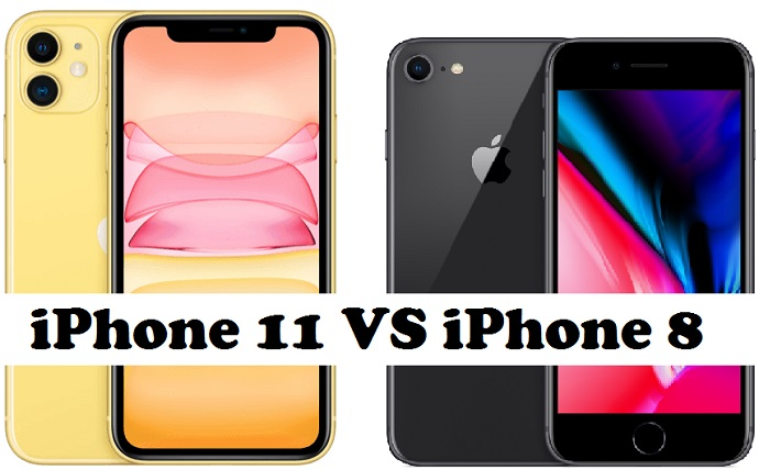 iphone 11 vs iphone 8