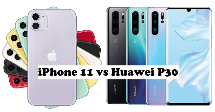 iphone 11 vs huawei p30 pro