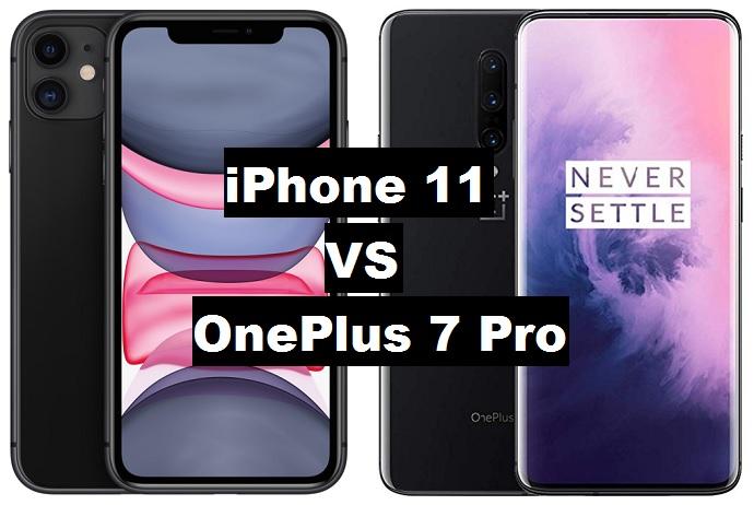 iphone 11 vs oneplus 7 pro