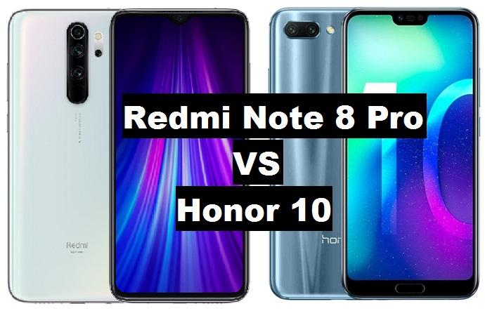 redi note 8 pro vs honor 10