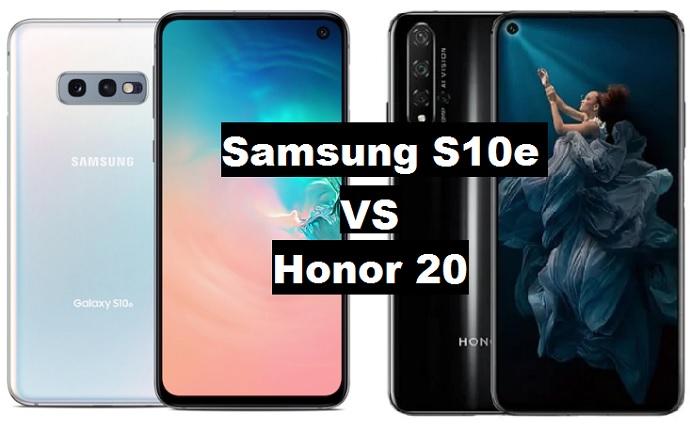 samsung s10e vs honor 20