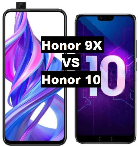 honor 9x vs honor 10