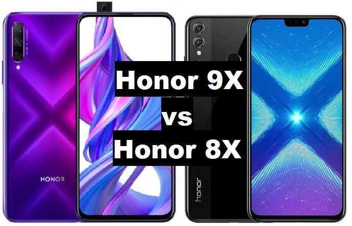 honor 9x vs honor 8x