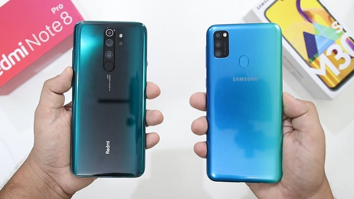 Samsung Galaxy M30s vs Xiaomi Note 8 Pro