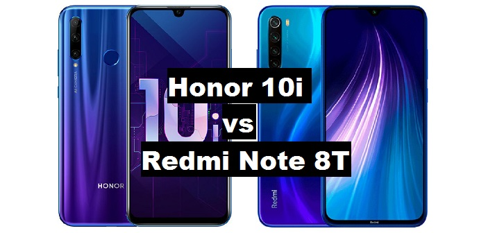 honor 10i vs redmi note 8t