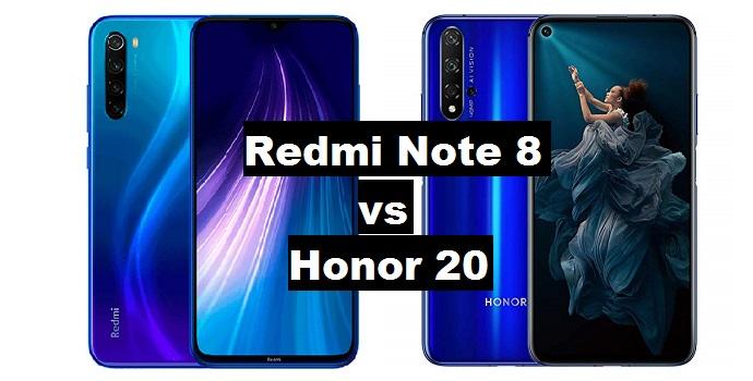 redmi note 8 vs honor 20