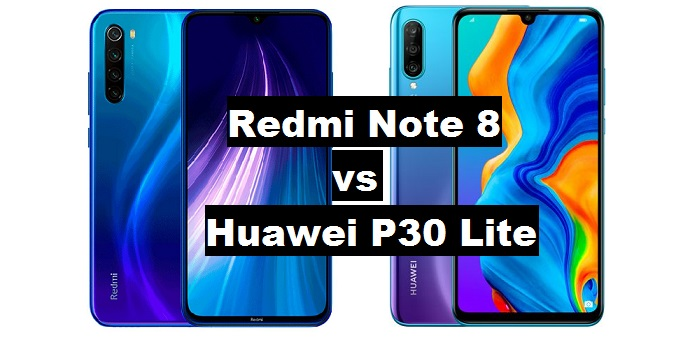redmi note 8 vs huawei p30 lite