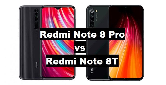 redmi note 8t vs redmi note 8 pro