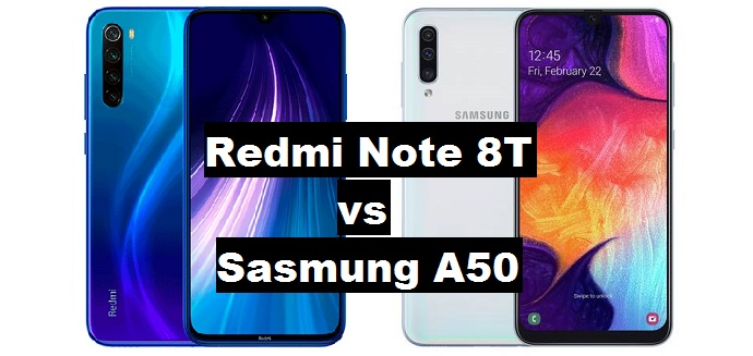 redmi note 8t vs samsung a50