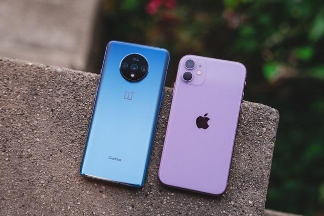 oneplus 7t vs iphone 11