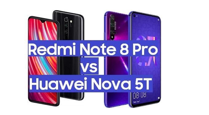 redmi note 8 pro vs huawei nova 5t