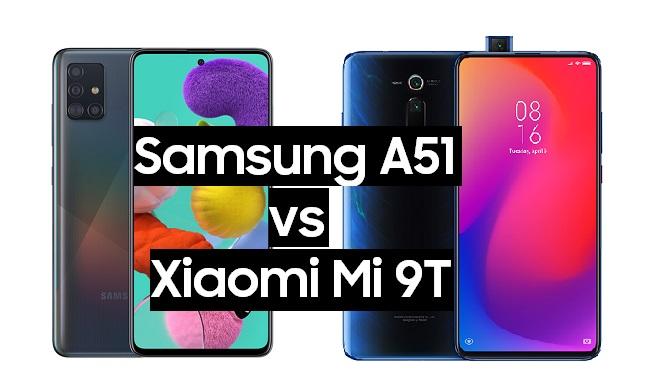 samsung galaxy a51 vs xiaomi mi 9t