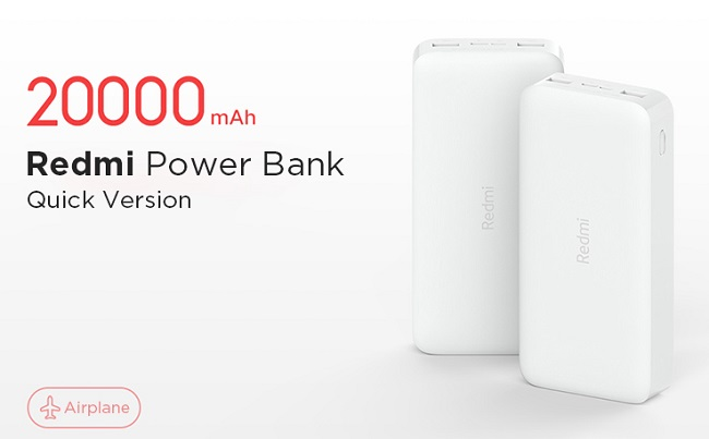 Xiaomi Redmi Power Bank Fast Charge 20000