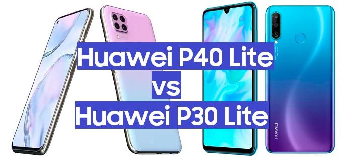 huawei p40 lite vs hawei p30 lite