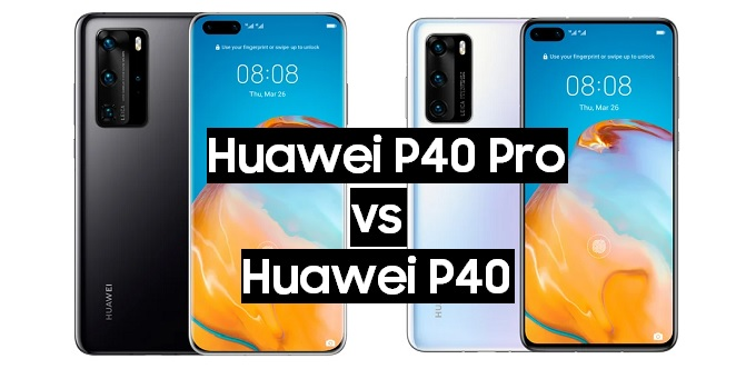 huawei p40 pro vs huawei p40