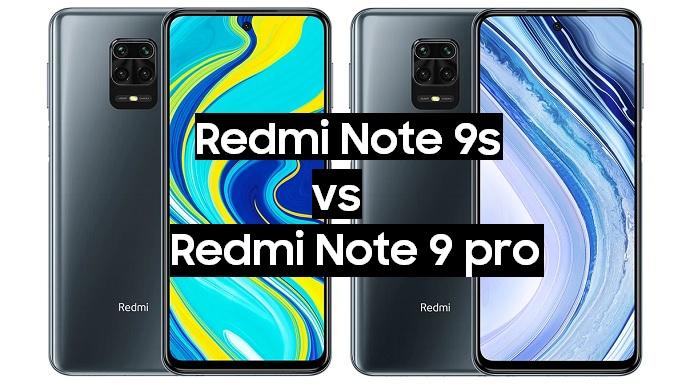 redmi note 9s vs note 9 pro