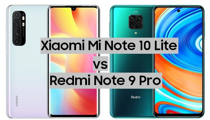 Redmi Note 9 Pro или Xiaomi Mi Note 10 Lite