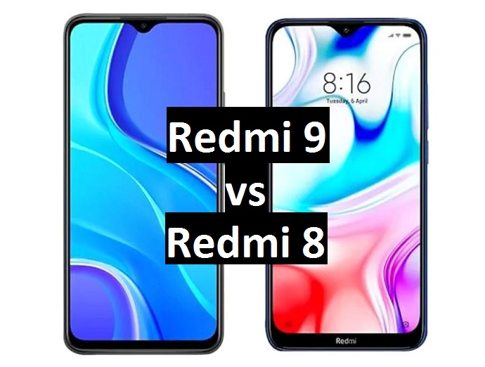 redmi 9 vs redmi 8