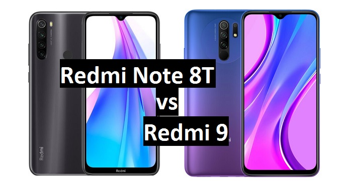 redmi note 8t vs redmi 9