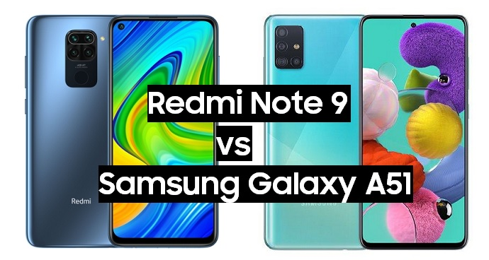 redmi note 9 vs samsung galaxy a51
