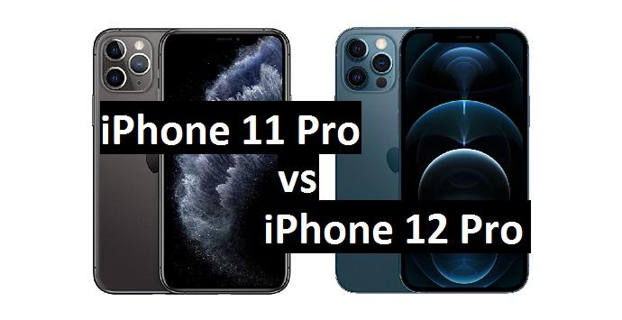 iphone 11 pro vs 12 prro
