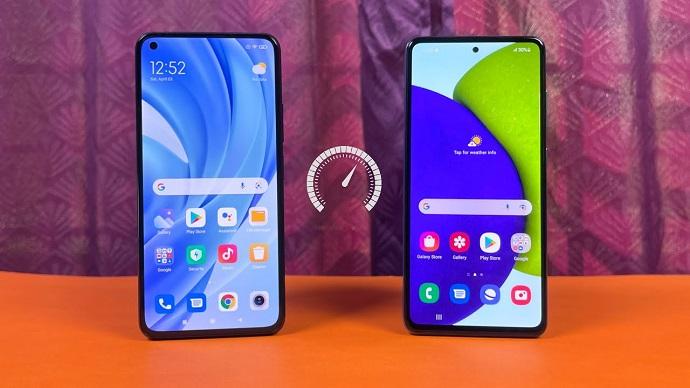 Samsung a52 vs xiaomi mi 11 lite