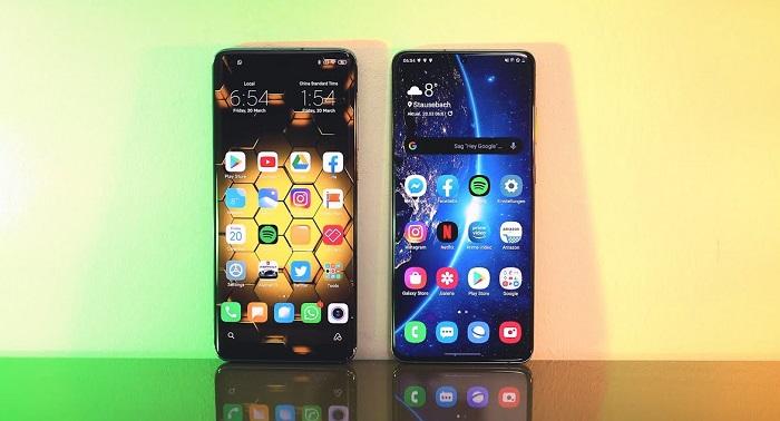 Xiaomi Mi 10T Pro vs Samsung Galaxy S20+