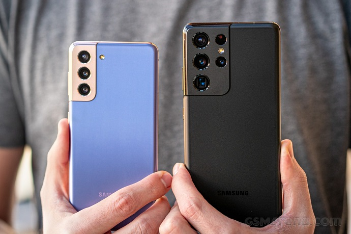 galax s21 ultra and galaxy s21