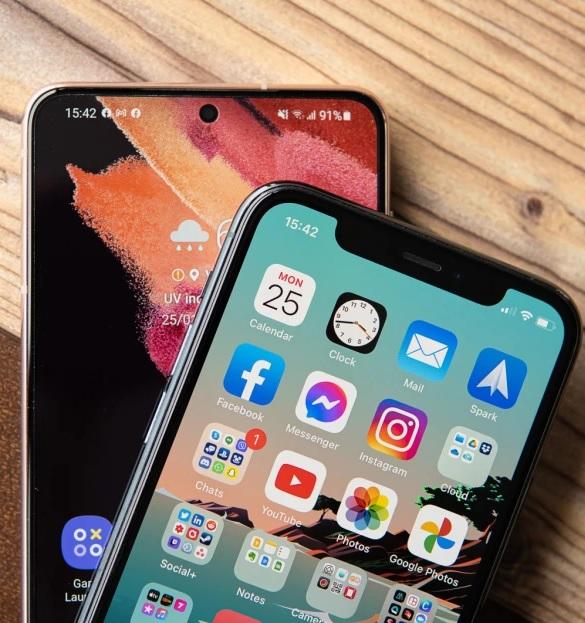 iphone 11 galaxy s21